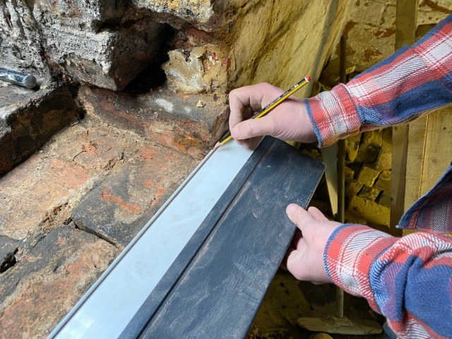 how to fit a window sill